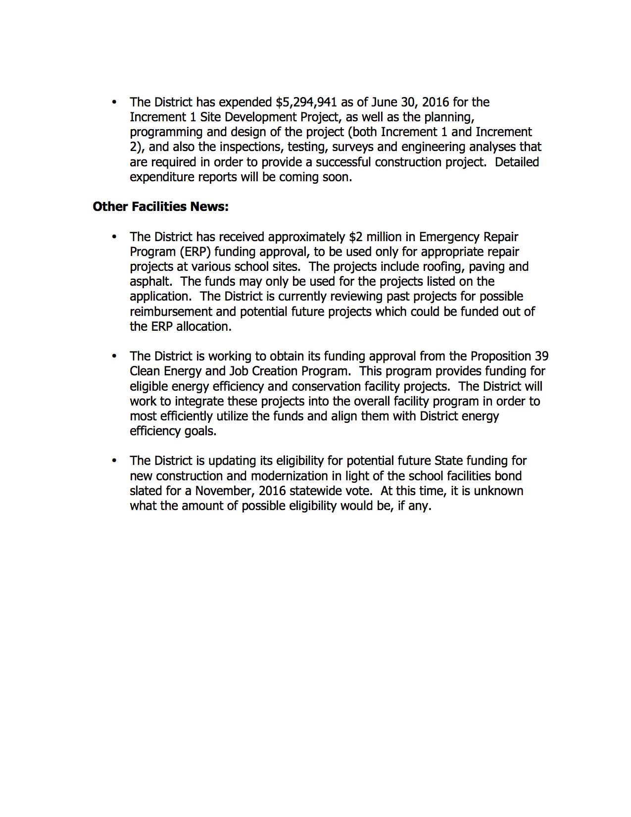 SOLEDAD USD FACILITIES UPDATE #1-2