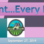 Image of newsletter heading - Every Student...Every Day! Soledad Unified School District, Weekly Newsletter, September 27, 2019, Timothy J Vanoli, Superintendent