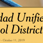 Image of newsletter heading - Soledad Unified School District, Weekly Newsletter, October 11, 2019