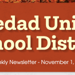 Image of newsletter heading - Soledad Unified School District, Weekly Newsletter, November 1, 2019
