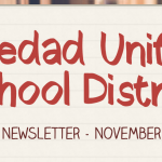 Image of newsletter heading - Soledad Unified School District, Weekly Newsletter, November 8, 2019