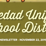 Image of newsletter heading - Soledad Unified School District, Weekly Newsletter, November 22, 2019