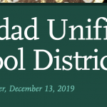 Image of newsletter heading - Soledad Unified School District, Weekly Newsletter, December 13, 2019