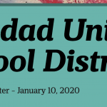 Image of newsletter heading - Soledad Unified School District, Weekly Newsletter, January 10, 2020