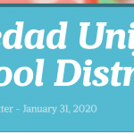 Image of newsletter heading - Soledad Unified School District, Weekly Newsletter, January 31, 2020