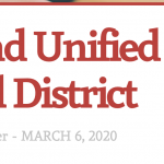 Soledad Unified School District Weekly Newsletter March 6, 2020