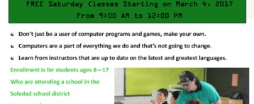 Free Coding Classes for SUSD Students!