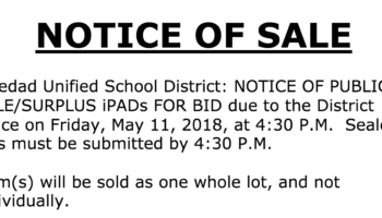 *Winner Selected* Public Auction: Whole Lot iPads